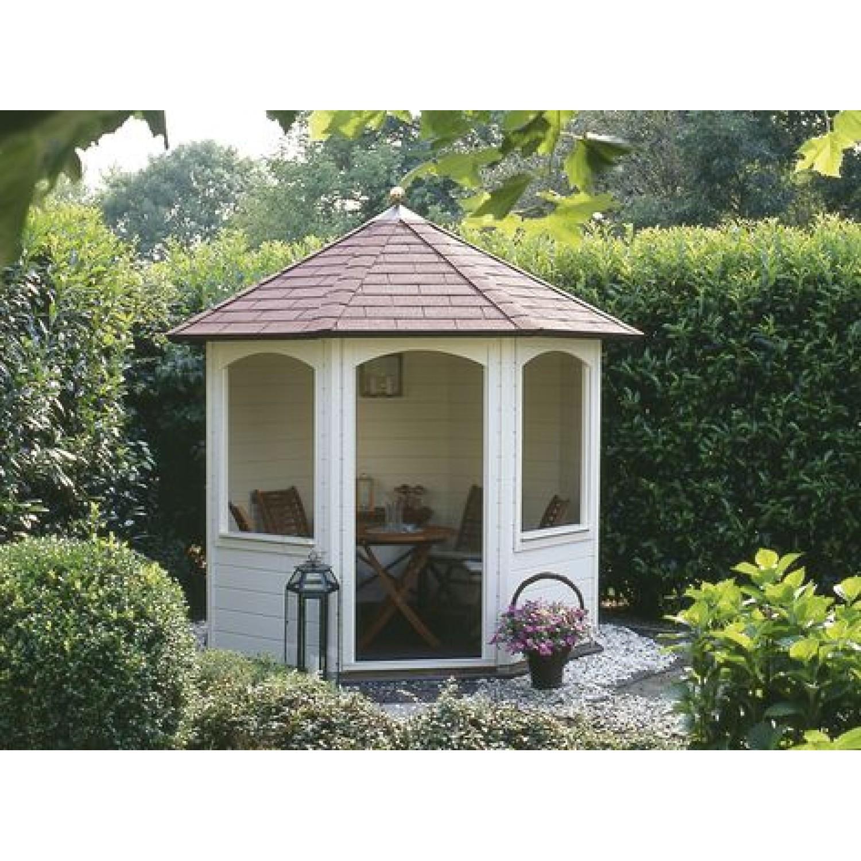 Lugarde prima andrea 250cm 28mm for Round garden buildings