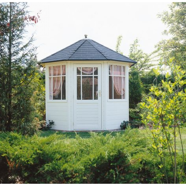 Lugarde prima jardin 250cm 28mm for Round garden buildings