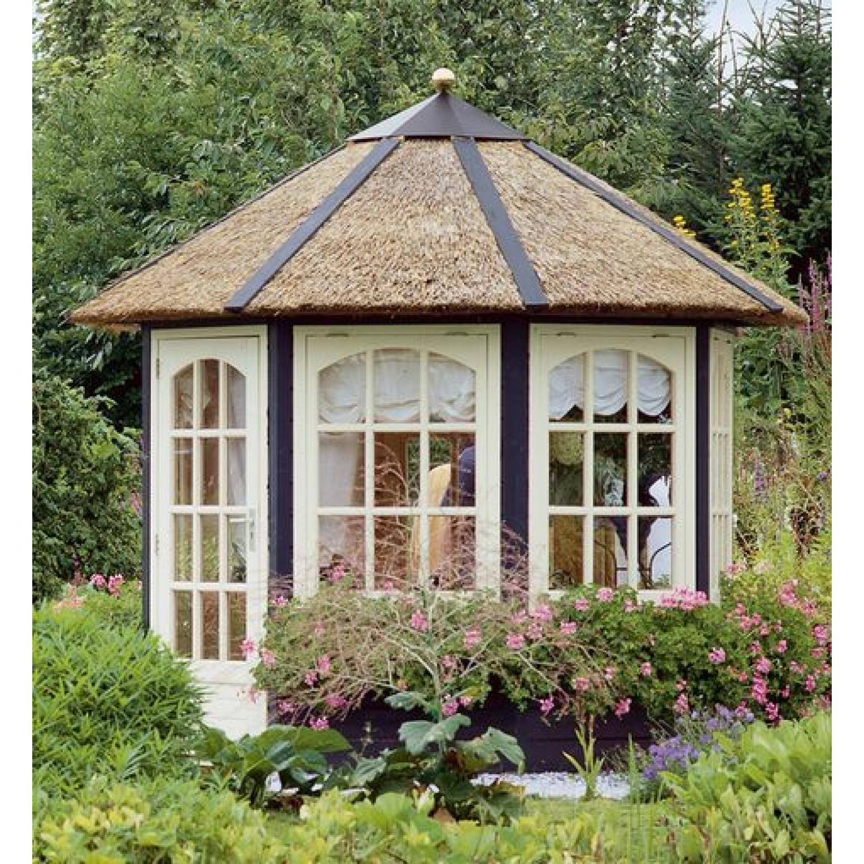 Lugarde prima vera 250cm 28mm for Round garden buildings