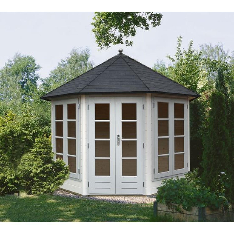 Lugarde prima avantgarde 300cm 28mm for Round garden buildings