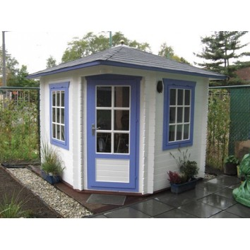 Lugarde 2.6 x 2.6m Corner Log Cabin