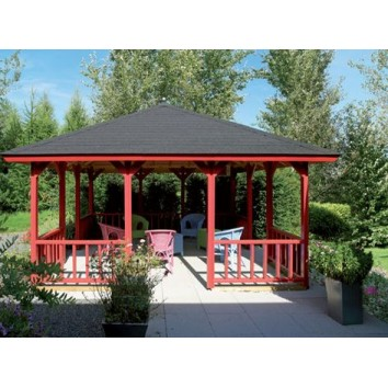 Lugarde Freestanding Verandas with Pyramid Roof