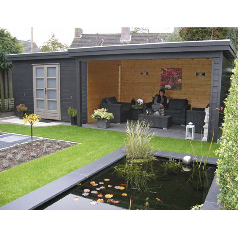 Дизайн дачных домиков и участков