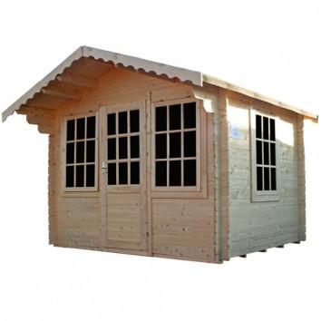 3 x 3m Lausanne Log Cabin