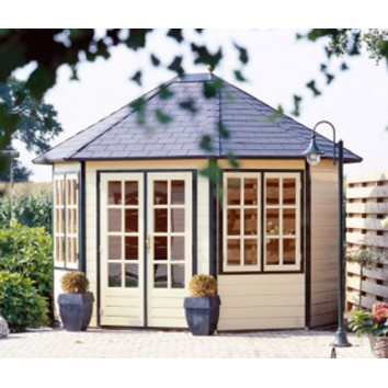 Lugarde Prima Oval Series Summerhouses