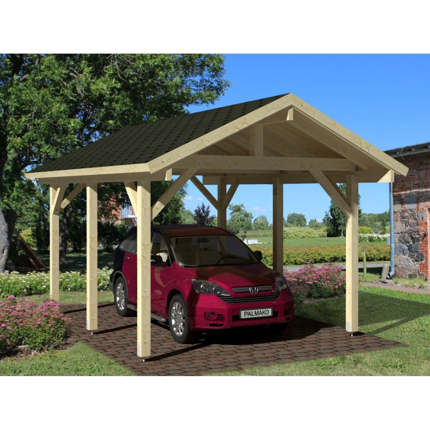 Carports And Garages Of Palmako Carport Robert