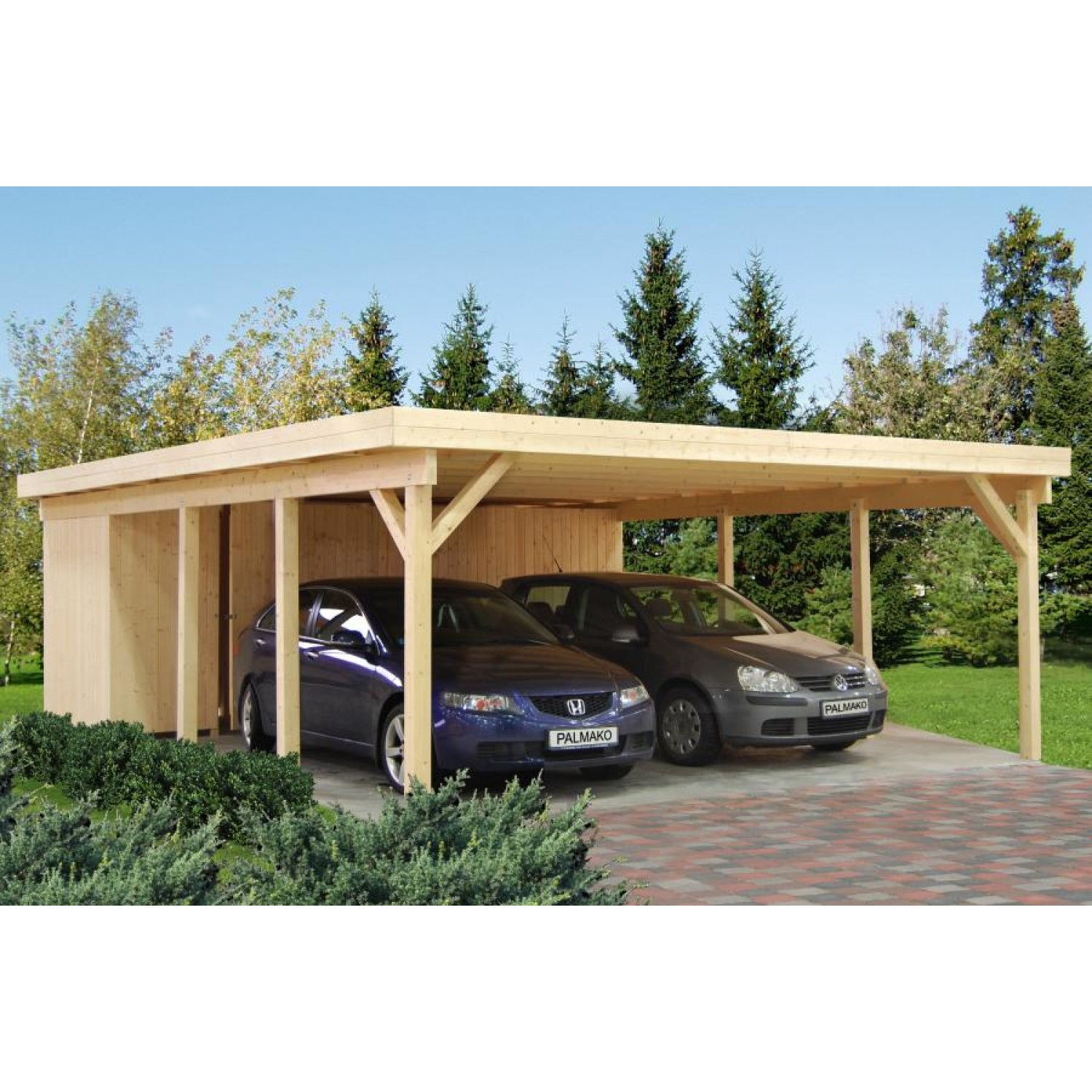 palmako carport karl. Black Bedroom Furniture Sets. Home Design Ideas