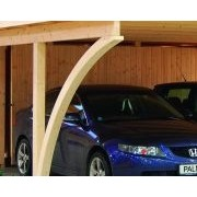 Palmako Carport Karl 40.6m2 Timber Garages & Carports