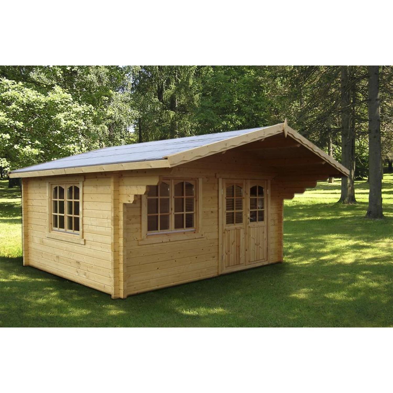 Palmako cabin helena for Casetas jardin resina baratas