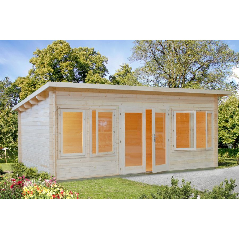 Palmako cabin lisa for Casetas jardin leroy merlin