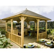 Lugarde Veranda Hawaii 300cm Lugarde Freestanding Verandas with Pyramid Roof