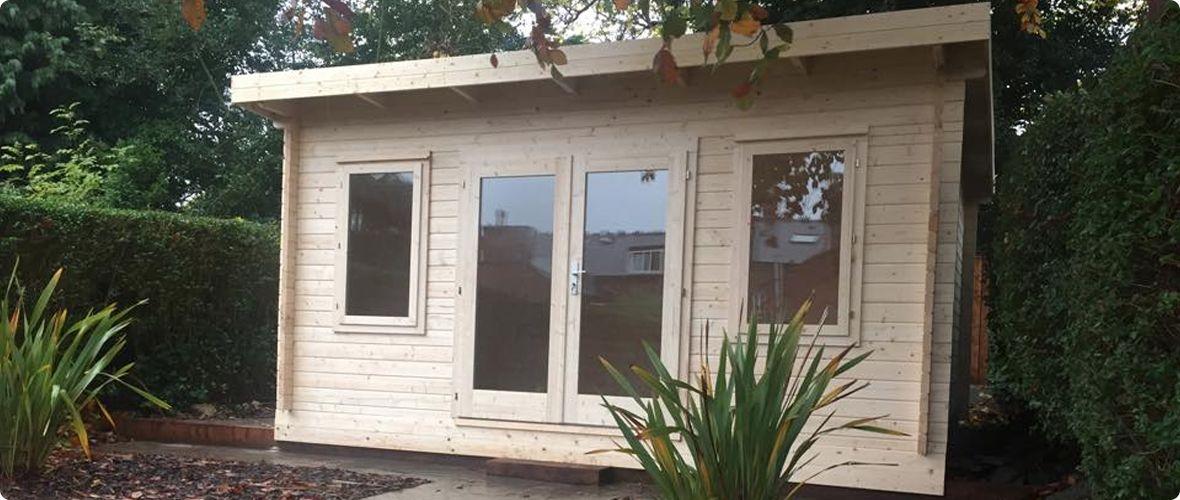 Mobile Home Log Cabins